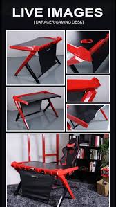 amazing design dxracer desk art gamingnews gamingdesktop