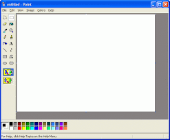 paint software tutorial how to add text watermark using free software like