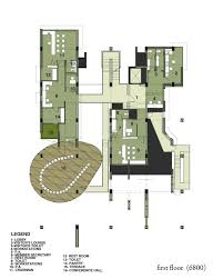 rest floor plan gallery of office complex for delhi pollution control committee