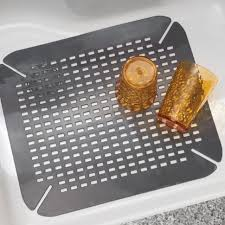 Kitchen Sink Protector by Kitchen Fabulous Ceramic Kitchen Sink Sink Mats With Drain Hole