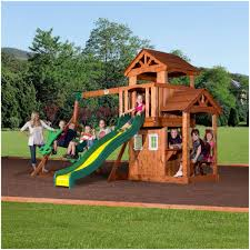 backyards awesome backyard discovery playsets skyfort ii wooden