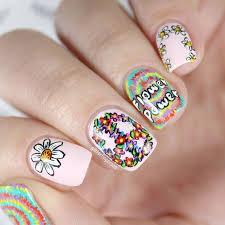 best 25 hippie nail art ideas only on pinterest funky nail