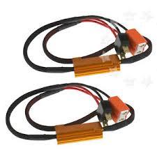 load resistors for led lights 2pcs h7 led drl fog light canbus 50w 6ohm load resistor wiring