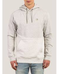 volcom bonus hoodie in black for men lyst