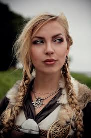 celtic warrior hair braids norsevikingqueen photo by wictoria nordgaard sól at borre viking