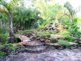 waterfall backyard diy pond kits garden pictures