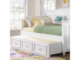 Daybeds With Trundles Samuel Lawrence Summertime Youth White Day Bed With Trundle