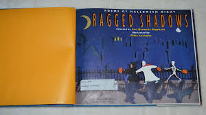 1993 ragged shadows poems of halloween night first edition from