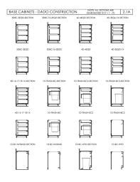 furniture kitchen base cabinet section drawing winda furniture