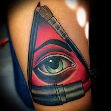 depiction gallery tattoos feminine makeup all seeing
