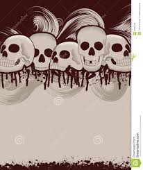free background halloween halloween skull and dripping blood background royalty free stock