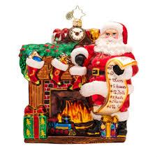 decor joyful visit theme by christopher radko ornaments for