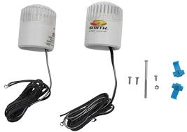 boat trailer guides with lights compare led light kit for vs ce smith post style etrailer com