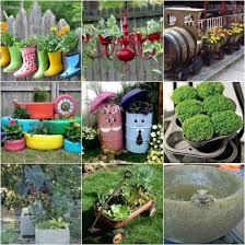 garden planters ideas garden planter ideas incredible 3 on home