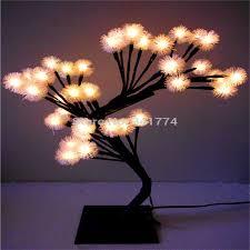 aliexpress buy led cherry blossom tree lights desk