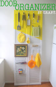 Diy Kitchen Organization Ideas Rental Trick 3 A Door Organizer C R A F T