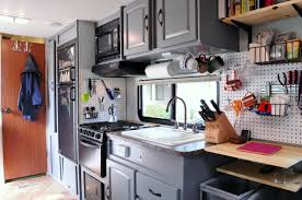 Alternatives To Kitchen Cabinets by How To Turn An Rv Into A Tiny House Step By Step We Eventually