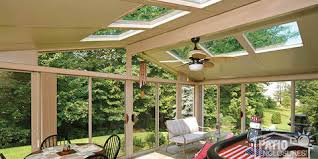 Patio Enclosures Rochester Ny by 3 Glass Roof Designs That Let You Create A Beautiful Sunroom