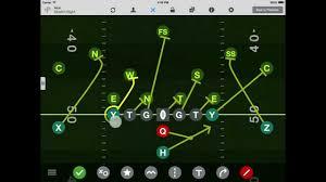 Flag Football Play Designer Ipad V3 0 Formations Tackle Football Playmaker Ipad App