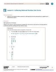 perimeter combine like terms lesson plans u0026 worksheets