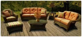 Charleston Outdoor Furniture by Charleston Wicker Patio Set Wicker Country Wicker Cushions