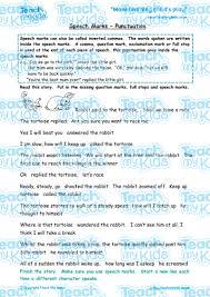 speech marks punctuation teach my kids