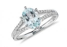 aquamarine and diamond ring shopping for aquamarine engagement rings lovetoknow