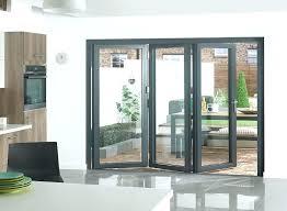 Bi Fold Glass Doors Exterior Cost Tri Fold Door Moutard Co