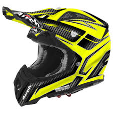 airoh motocross helmet airoh aviator 2 2 ripple yellow gloss 2016