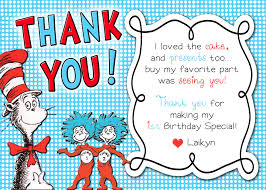 dr suess thing 1 thing 2 thank you card on storenvy