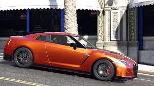 Nissan Gtr Yellow - 2015 nissan gt r 35 nismo add on replace animated gta5