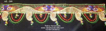 decorative handicrafts bandhanwar toran diwali decoration buy