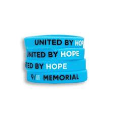 blue bracelet images Rubber bracelet blue 9 11 memorial museum store jpg