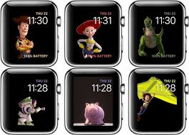 update apple watch toy story faces latest watchos
