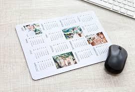 Kalender 2018 Gestalten Mousepad Mit Eigenen Fotos Und Kalender 2018 Gestalten