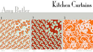 Burnt Orange Kitchen Curtains by Orange Kitchen Curtains Kitchen Ideas