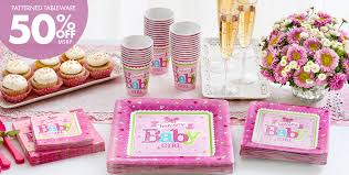 girl themes for baby shower welcome baby girl baby shower party supplies party city