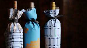 wine bottle wraps diy crafty creative wine gifting wine sisterhood