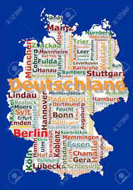 Darmstadt Germany Map by Map Of Germany And Big German Cities Stock Photo Picture And
