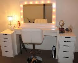 mirror vanities for bedroom with lights ideal vanities for