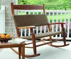 Patio Rocking Chair Wicker Rocking Chairs Lustwithalaugh Design Building