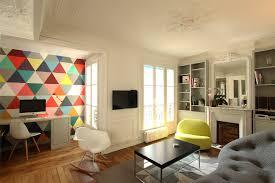 Visites Privées 13 Appartements Français Osent La Couleur Un Appartement Haussmannien Haut En Couleur Camille
