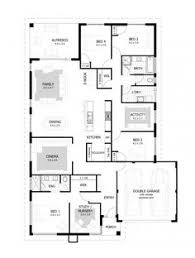 Modern House Floor Plans With Pictures House Plans House Floor Plans Australian House Plans Modern
