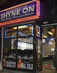 the store shyne on gold silver and jewelry