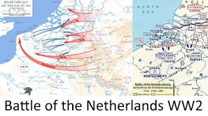 Map Netherlands The Battle Of The Netherlands 1940 Ww2 Every Hour Youtube