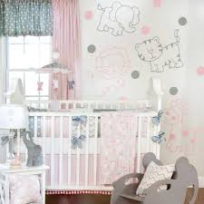 Grey And Pink Nursery Decor by Baby Nursery Astonishing Ideas For Baby Nursery Room