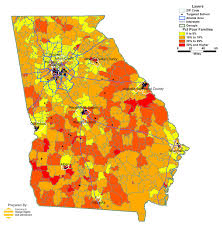 Zip Code Map New Orleans by Georgia Public Schools Takeover In Maps Organization For Human