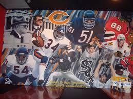 chicago sports legends mural