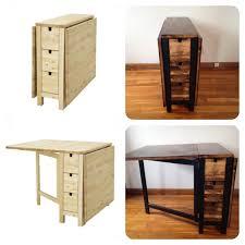 Ikea Wood Table by Ikea Norden Gateleg Table Goes Dark Ikea Hackers Ikea Hackers