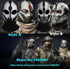 halloween mask store black full face mask the punisher cycling outdoor special forces